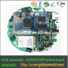 PCB assembly SMT and DIP LED light controller with menmber switch network pcba